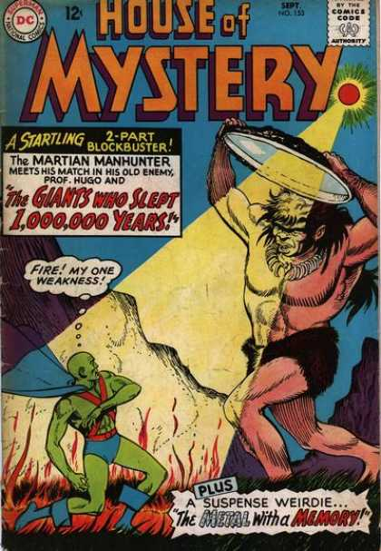 House of Mystery 153 - Suspense - Giant - Martian Manhunter - Startling - Block Buster