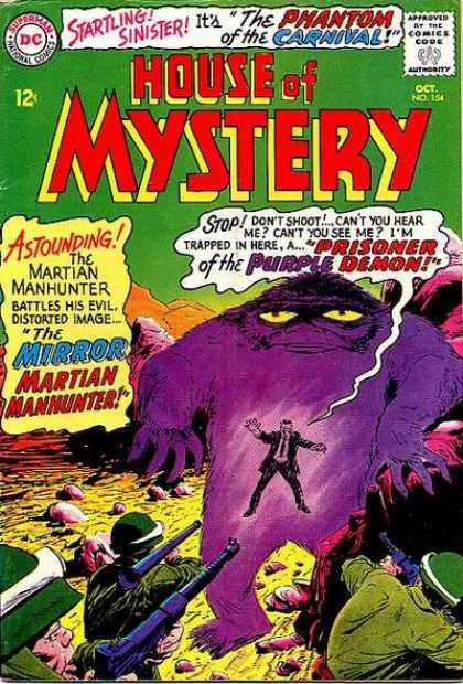 House of Mystery 154