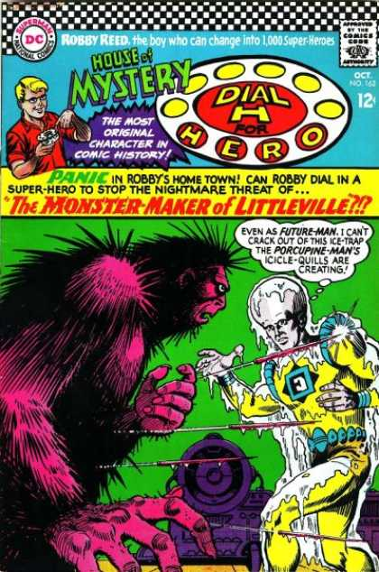House of Mystery 162 - Monster - Alien - Space Suit - Littleville - Dial H For Hero - Jim Mooney