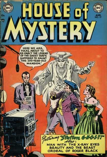 House of Mystery 17 - Dc Comics - Ghosts - Mystery - Horror - Anthology