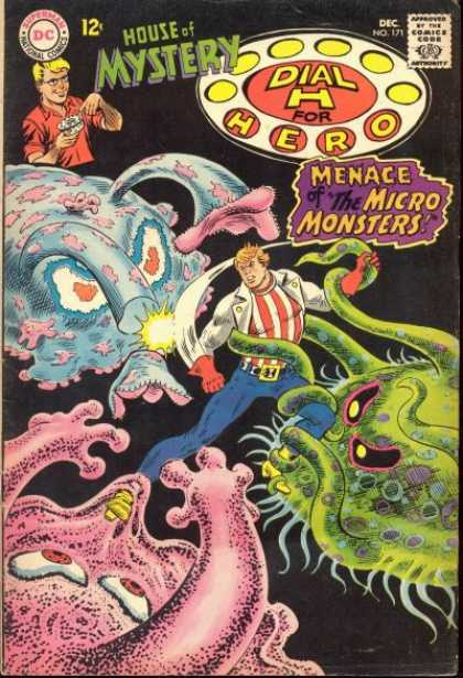 House of Mystery 171 - Superman National Comics - Approved By The Comics Code - Monster - Dial H For Hero - Man - Nick Cardy