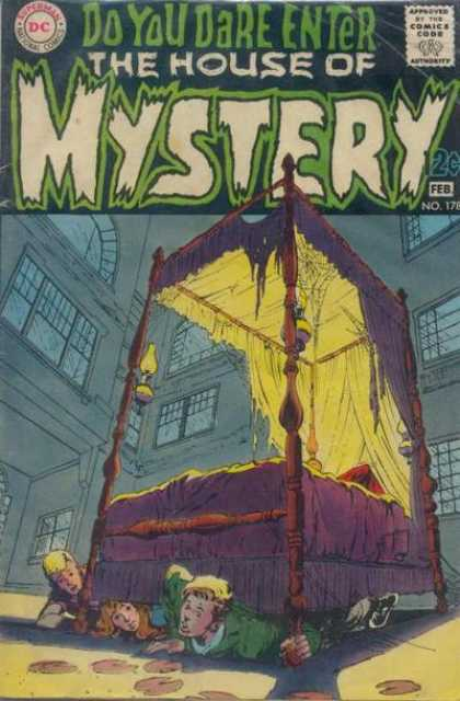 House of Mystery 178 - Bed - Dc - Do You Dare Enter - February - Kids - Neal Adams
