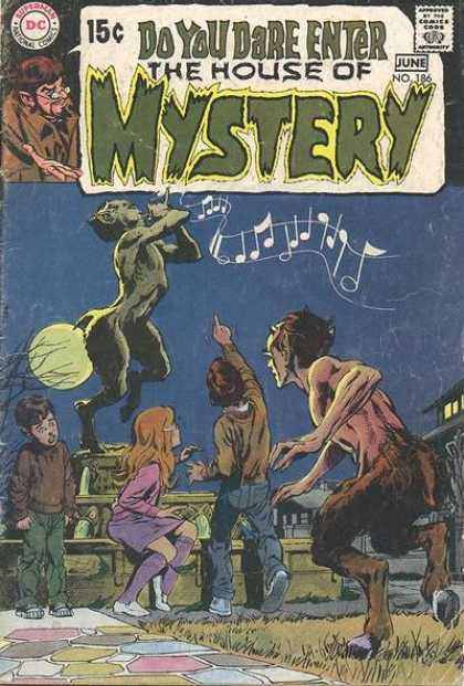 House of Mystery 186 - Pan - Music - Dc - Full Moon - June - Neal Adams