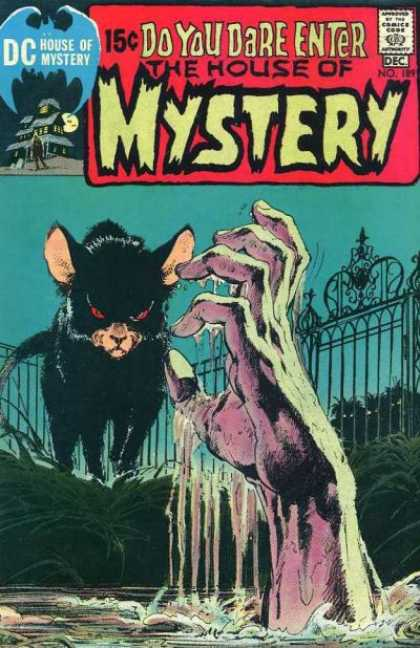 House of Mystery 189 - Cat - Hand - Gate - Sky - Water - Neal Adams