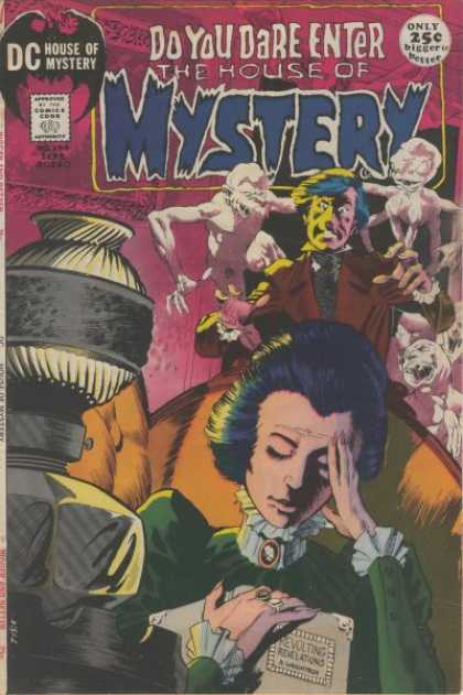 House of Mystery 194 - Do You Dare Enter - Dc Comics - Bigger Is Better - Revolting - Scary - Bernie Wrightson