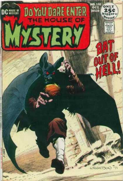 House of Mystery 195 - Bernie Wrightson