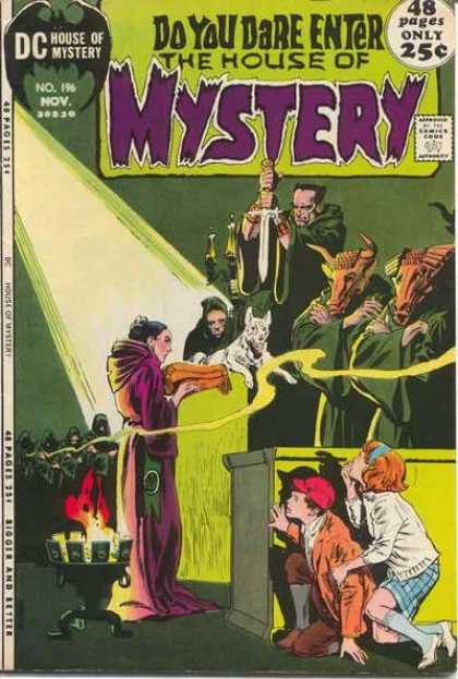 House of Mystery 196 - Tony DeZuniga