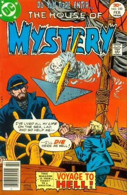 House of Mystery 250 - Ernie Chan