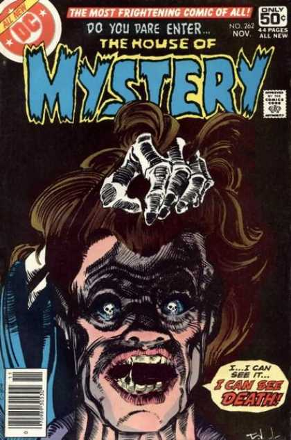 House of Mystery 262 - Death - Skulls