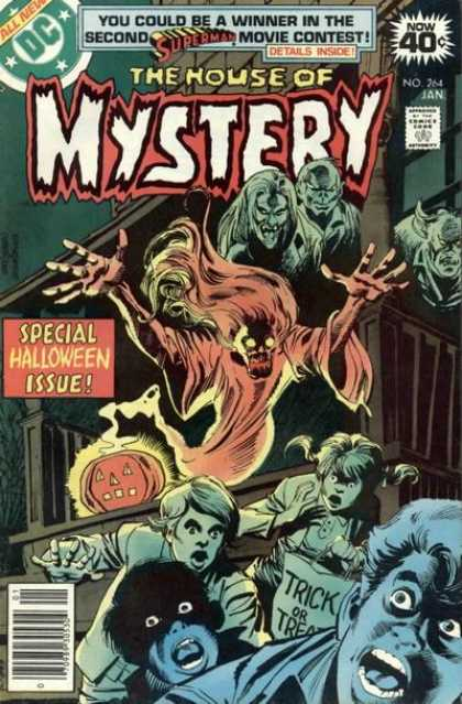 House of Mystery 264 - Superman - Special Holloween Issue - Trick - Ghost - Demon - Dick Giordano