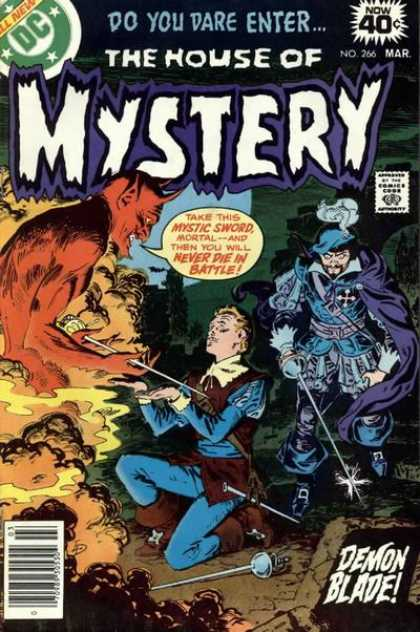 House of Mystery 266 - Devil - Dc - Comics Code - Do You Dare Enter - Men - Luis Dominguez