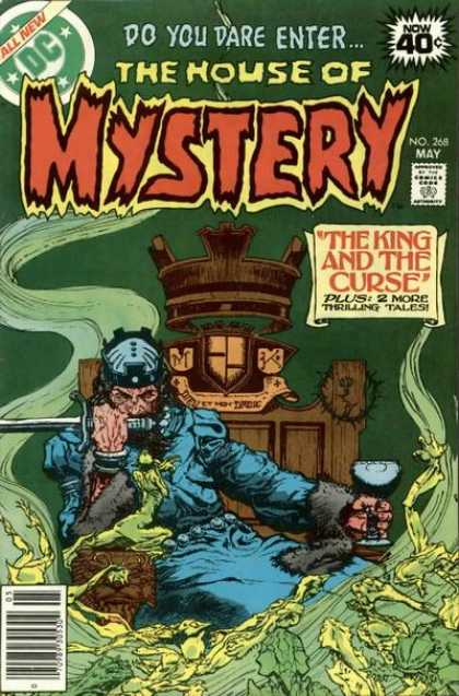 House of Mystery 268 - King - Curse - Crown - Tales - Thrilling - Michael Kaluta