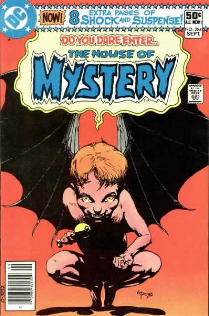 House of Mystery 284 - Dare Enter - Extra Shock - Real Suspense - Shoking Entry - First Death - Michael Kaluta