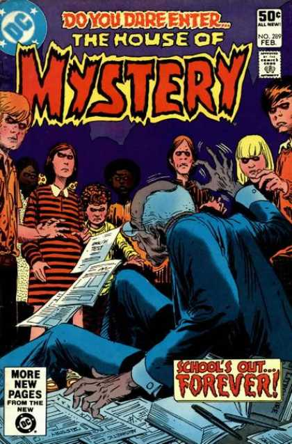 House of Mystery 289 - Do You Dare Enter - Dc - More New Pages - Approved By The Comics Code Authority - Forever - Joe Kubert