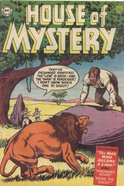 House of Mystery 29 - Lion - Tree - Curt Swan
