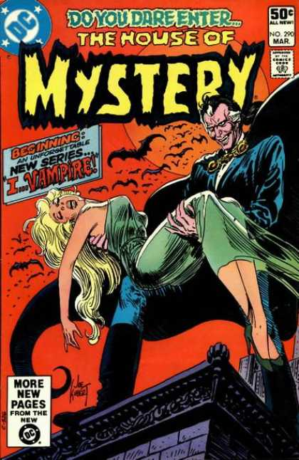 House of Mystery 290 - Bats - Vampire - Joe Kubert