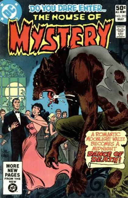House of Mystery 292 - Werewolf - Joe Kubert