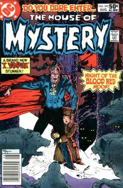 House of Mystery 295 - Vampire - Michael Kaluta