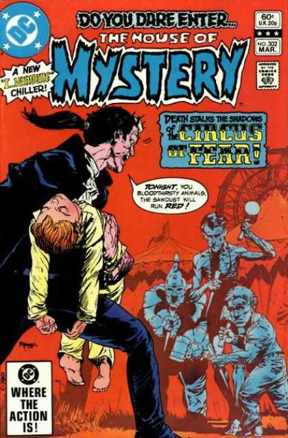 House of Mystery 302 - Michael Kaluta
