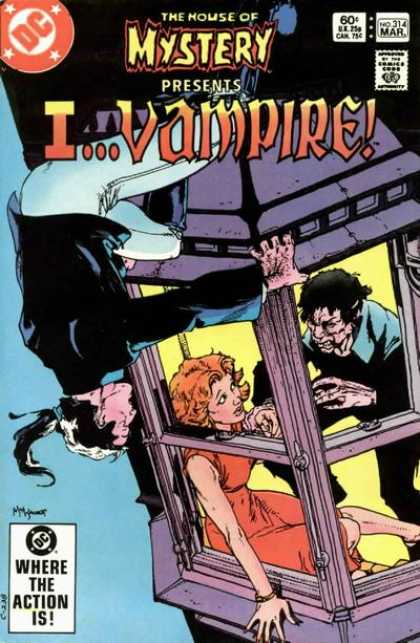 House of Mystery 314 - Vampire - Dc - Man - Woman - Where The Action Is - Michael Kaluta