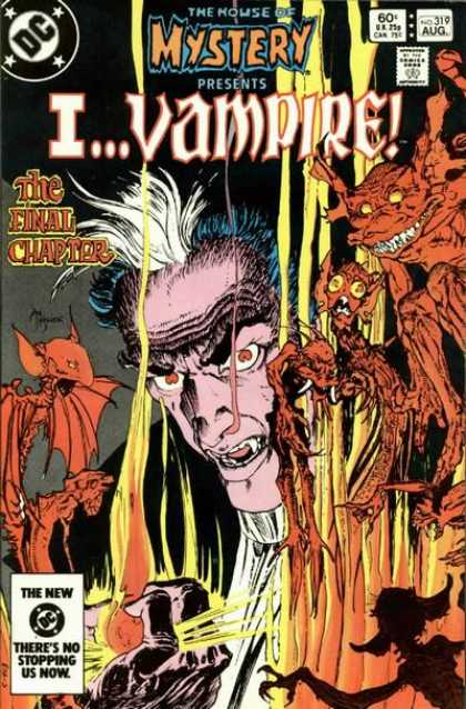 House of Mystery 319 - Ivampire - Monsters - Comics Code - Dc - The Final Chapter - Michael Kaluta