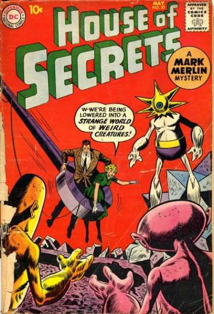 House of Mystery 32 - House Of Secrets - Mark Merlin - Mystery - Action - Dc