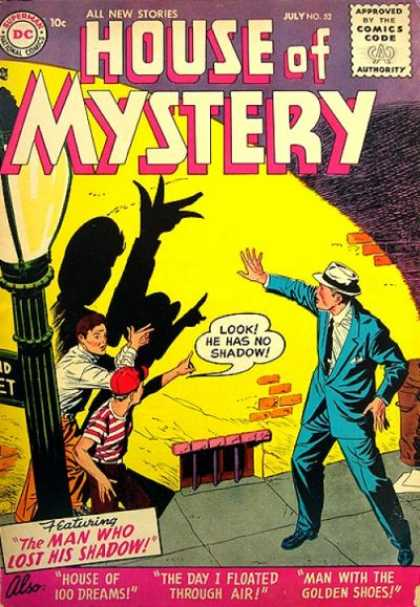 House of Mystery 52