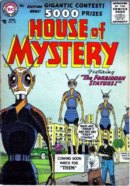 House of Mystery 53