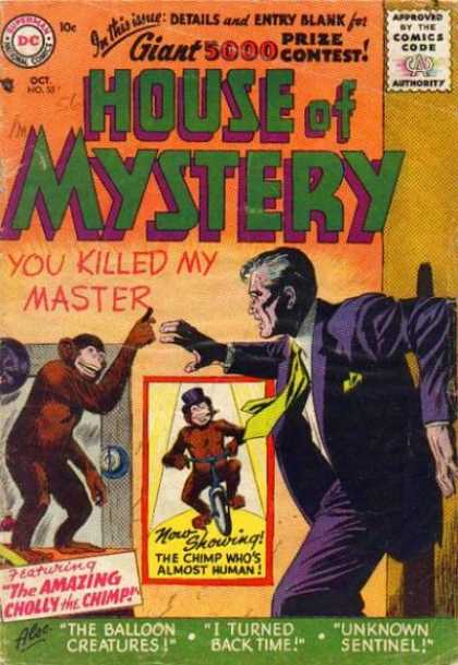 House of Mystery 55