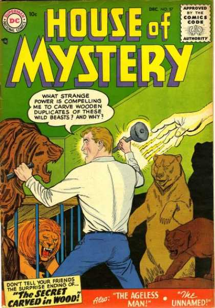 House of Mystery 57 - Nick Cardy