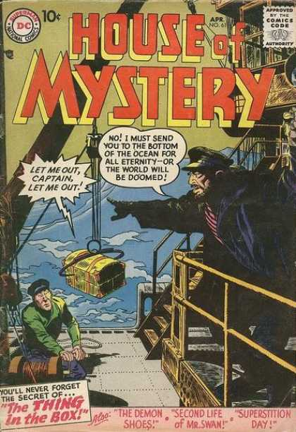 House of Mystery 61