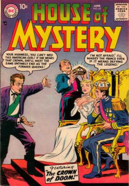 House of Mystery 63