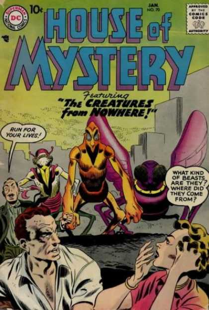 House of Mystery 70