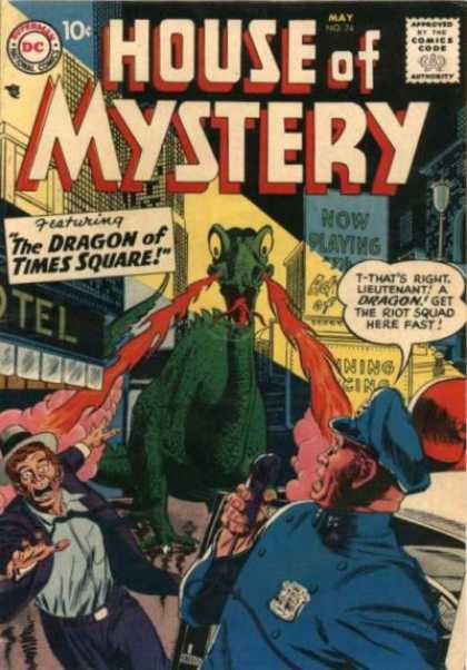 House of Mystery 74