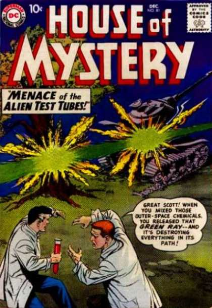 House of Mystery 81