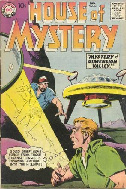 House of Mystery 82 - Mystery Dimension Valley - Good Greif - One Machine - Got Shocked - Strange