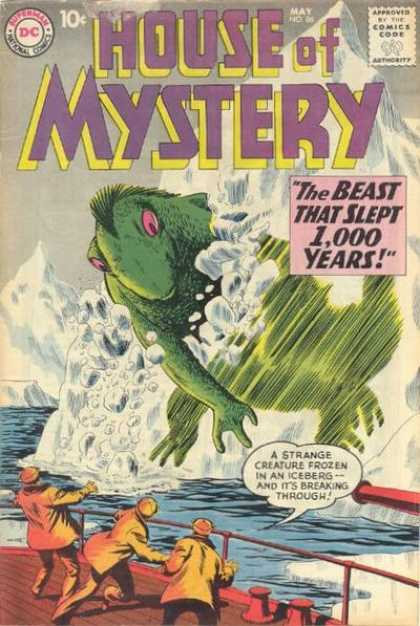 House of Mystery 86