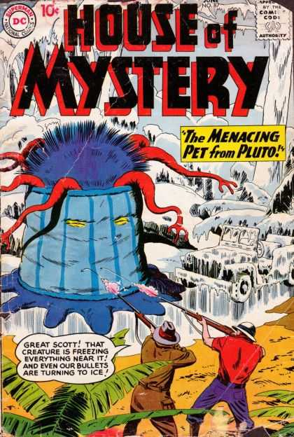 House of Mystery 87 - Monster - Ice - Jungle - Rifles - Tentacles