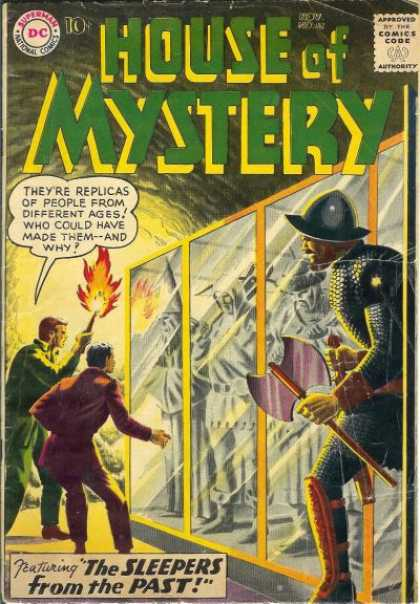 House of Mystery 92 - Mystery - Dc Comics - Sleepers - Past - Replicas