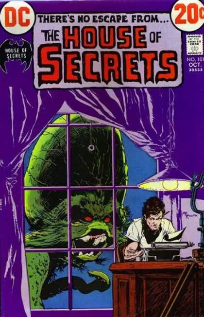 House of Secrets 101 - Dc - No Escape - October - 20 Cents - Window - Michael Kaluta