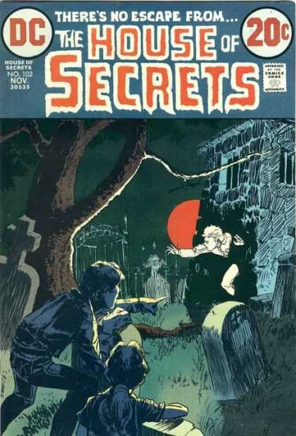 House of Secrets 102 - Michael Kaluta