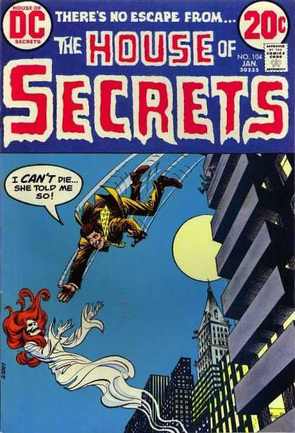 House of Secrets 104 - Dc - January - Full Moon - 20 Cents - Building - Nick Cardy