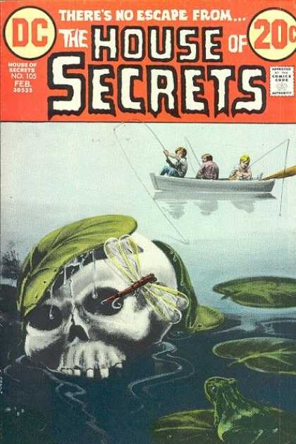 House of Secrets 105 - Skull - Fishing