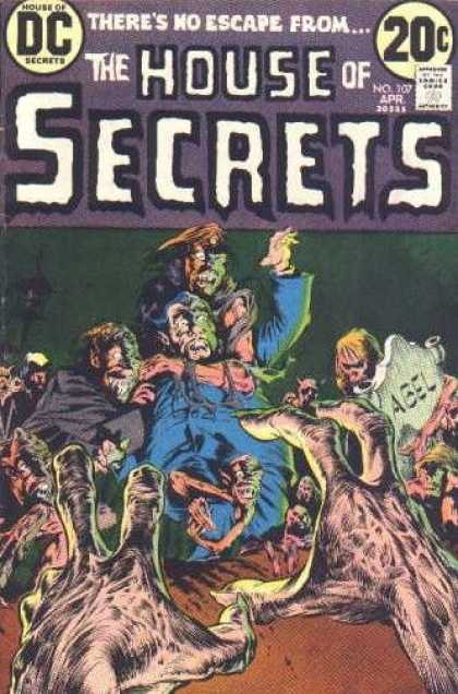 House of Secrets 107 - Bernie Wrightson