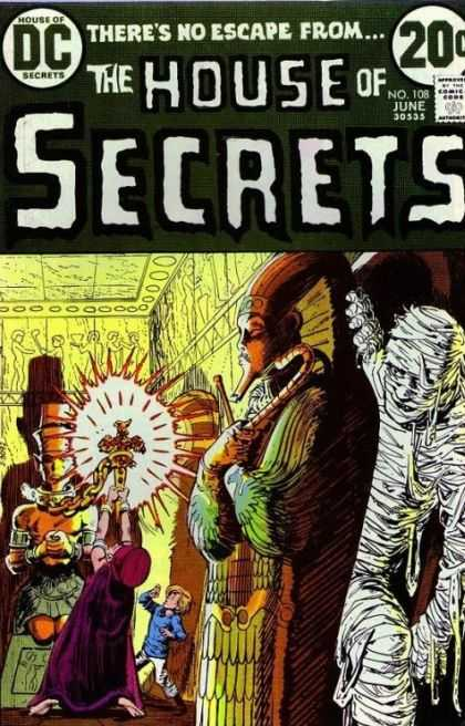 House of Secrets 108 - Mummy