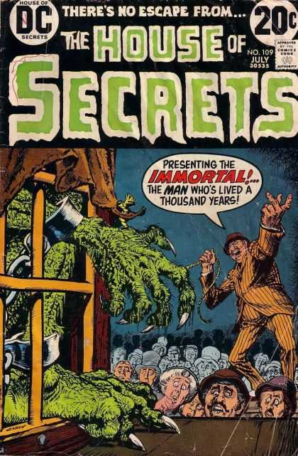 House of Secrets 109 - No 109 - July - Immortal - Thousand Years - Lived - Nick Cardy