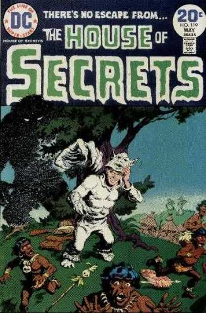 House of Secrets 119 - Costume
