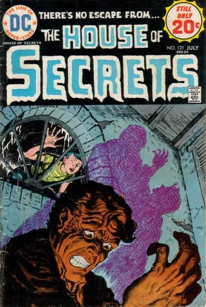 House of Secrets 121 - Boy - Shadow - Window - Fear - Monster - Luis Dominguez