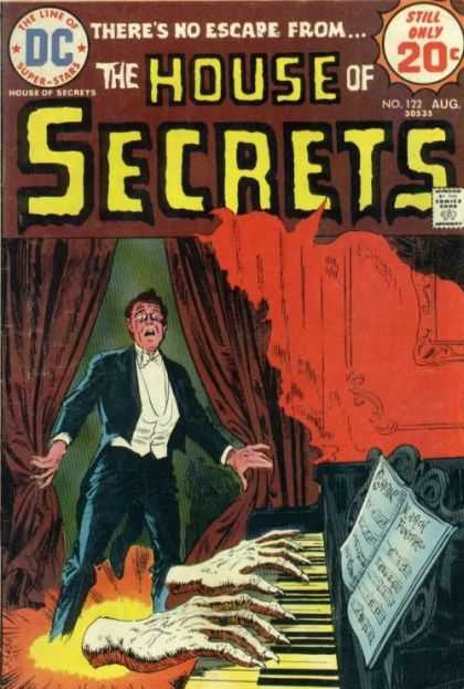 House of Secrets 122 - Theres No Escape - Piano - Sheet Music - Hands - Tuxedo - Luis Dominguez