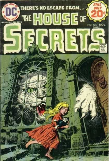 House of Secrets 125 - Dc - The Lime Of Super Stars - No 125 Nov - Approved By The Comics Code Authority - Sharp Nail - Luis Dominguez